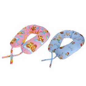 Подушка АДАМАС ОБЛАКО для беременных, размер 30х170 см, холлофайбер, чехол МИКС Ош