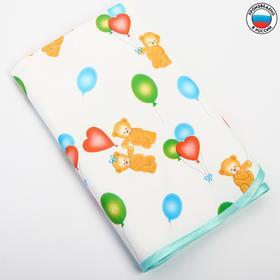 Клеёнка с ПВХ-покрытием 'Мишки' 50х70 см, цвета МИКС Ош