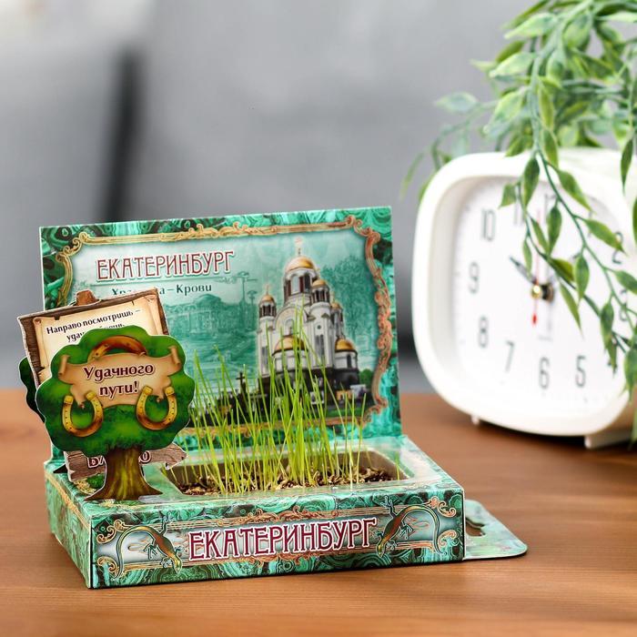 Растущая травка в открытке Екатеринбург