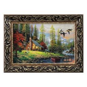 Картина 'Охотничий домик' Ош