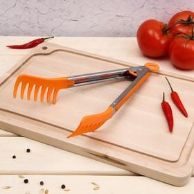 Щипцы для спагетти «Пикник», 23 см, цвет МИКС