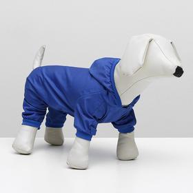 Комбинезон для собак, M (дс - 25 см, ог - 34 см), синий Ош