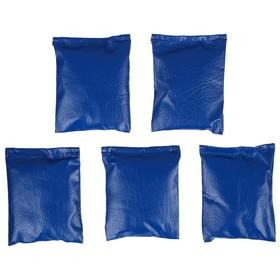 Мешочки для метания, набор 5 шт. по 200 г, цвета микс Ош