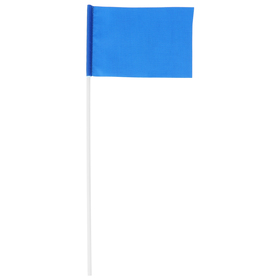 Флажок эстафетный, 10 х 15 см, цвета МИКС Ош