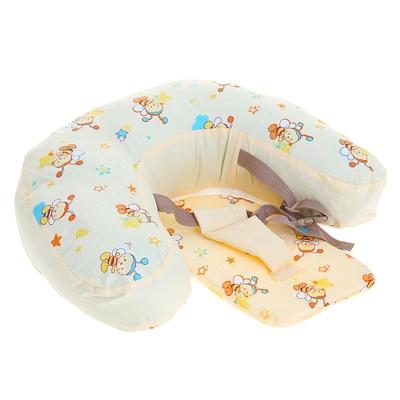 Подушка для кормления «Кресло-трансформер», цвета МИКС