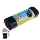 Мешки для мусора 240 л, ПНД, толщина 40 мкм, 10 шт, цвет чёрный