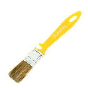 Кисть плоская Matrix, для лаков, 25х10 мм, ручка пластик, искусственная щетина