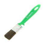 Кисть плоская Matrix, для дерева, 25х10 мм, ручка пластик, натуральная щетина