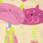"""Постельное бельё 1,5сп""""Традиция: Кошки"""", 147х217 см, 150х220 см, 70х70 см - 2 шт - Фото 3"""