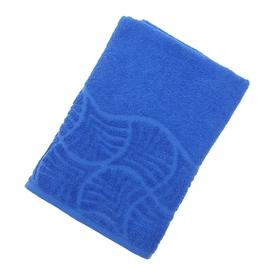 Полотенце махровое банное 'Волна', размер 70х130 см, 300 г/м2, цвет синий Ош
