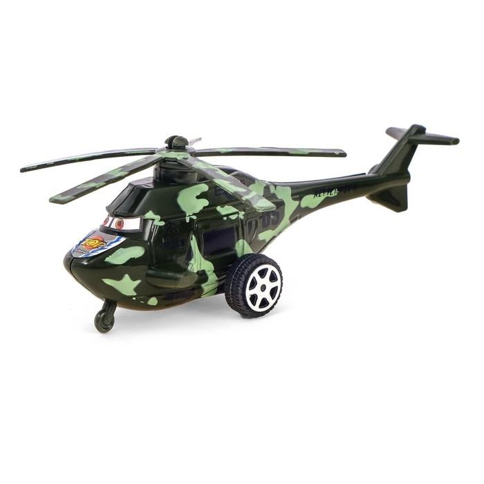 Вертолёт инерционный Спецназ, цвета МИКС
