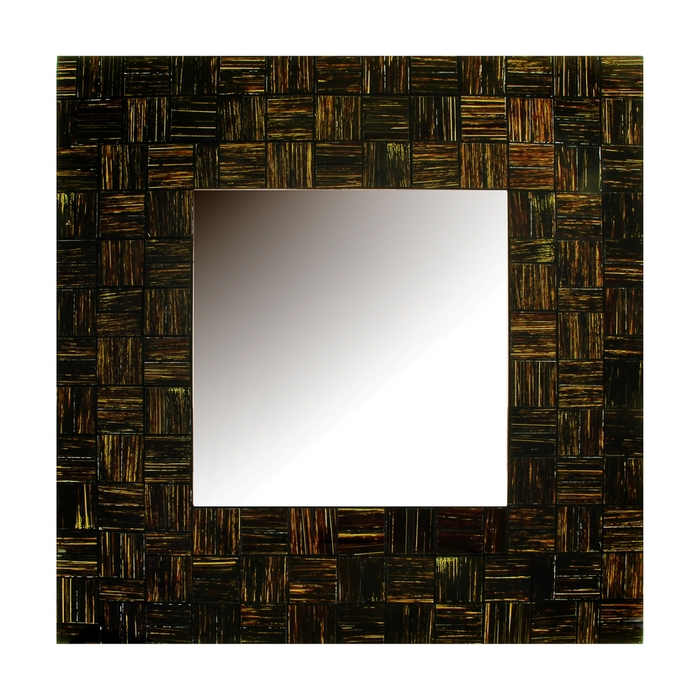 "Зеркало ""Тёмный квадрат"""