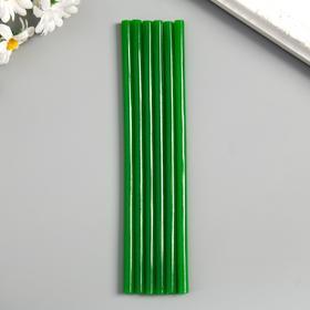 Клей для клеевого пистолета 'Зеленый', d = 7 мм, (набор 6 шт.) Ош