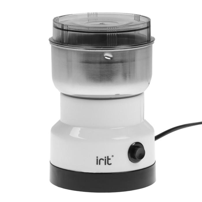 Кофемолка электрическая Irit IR-5016, 120 Вт, 85 г, белая