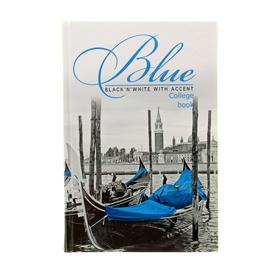 Колледж-тетрадь 160 листов клетка 'Венеция', твердая обложка Ош