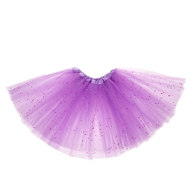 Карнавальная юбка, 3-х слойная, 4-6 лет, цвет сиреневый Ош