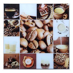 Картина на стекле 'Кофе'  50*50см Ош