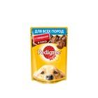 Влажный корм Pedigree для собак, говядина в соусе, пауч, 100 г
