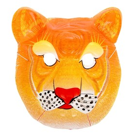 Карнавальная маска 'Тигр' на резинке Ош