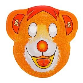 Карнавальная маска 'Медвежонок' на резинке Ош