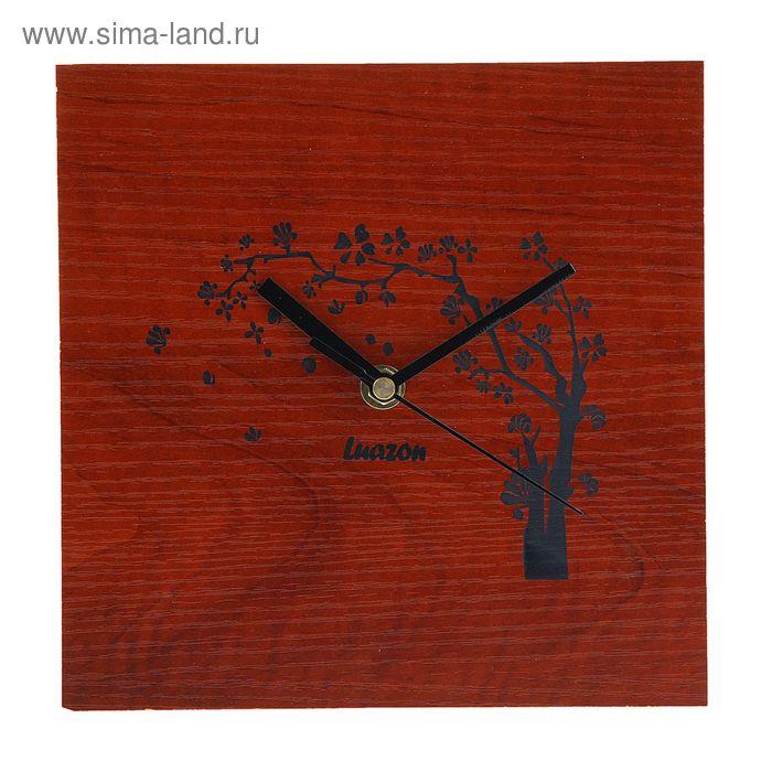 """Часы настенные, серия: Интерьер, """"Дерево на ветру"""", 20 ..."""