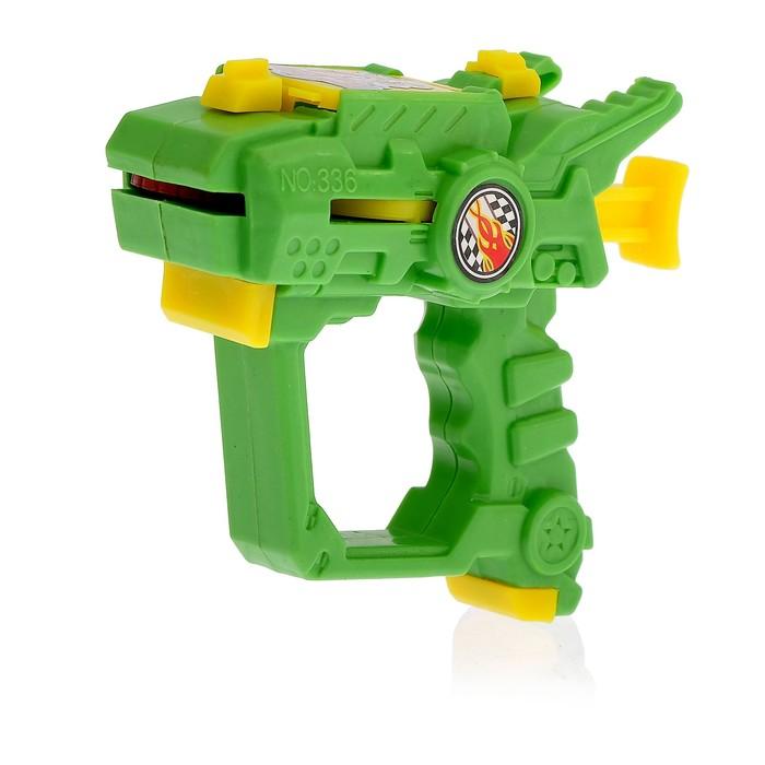 """Пистолет """"Дискомет"""", стреляет дисками, цвета МИКС"""