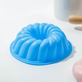 Форма для выпечки «Немецкий кекс. Заварное печенье», d=12 см, цвет МИКС