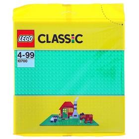 Конструктор Lego Classic «Строительная пластина зелёного цвета»