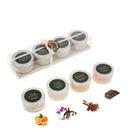 Соль для ванны (набор 4 шт) по 50 гр Орхидея, Корица, Шоколад, Апельсин