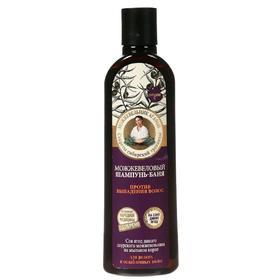Шампунь Рецепты бабушки Агафьи «Можжевеловый», против выпадения волос, 280 мл