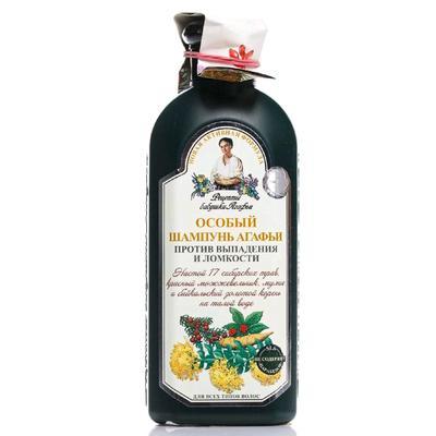 Шампунь Рецепты бабушки Агафьи «Особый», против выпадения волос, 350 мл - Фото 1