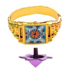 Карнавальный набор «Часики», 2 предмета: браслет, волчок, цвета МИКС Ош