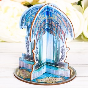 Настольный сувенир «Тюмень. Фонтан» Ош