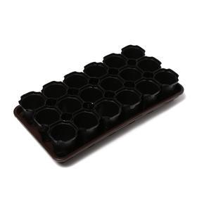Набор для рассады: стаканы по 200 мл (18 шт.), поддон 42 × 23 Ош