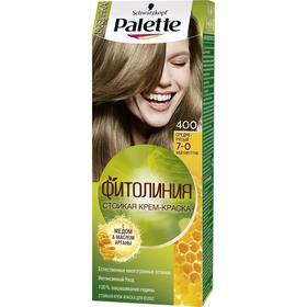 Крем-краска для волос Palette Фитолиния, тон 400, средне-русый