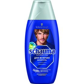 Шампунь для волос Schauma «Сила & объём», для мужчин, 225 мл