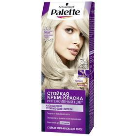Крем-краска для волос Palette, тон А10, жемчужный блондин