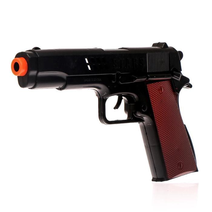Пистолет-трещётка Полиция, с кобурой
