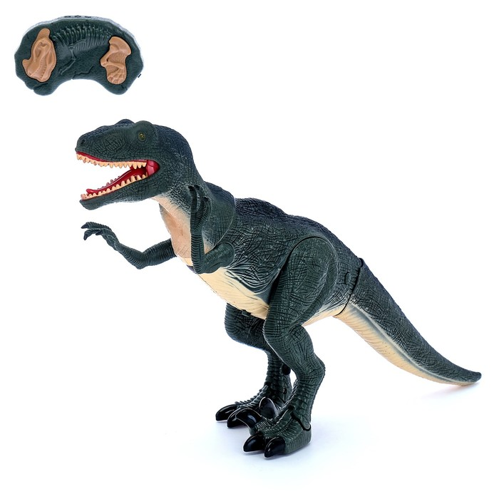 Динозавр радиоуправляемый «Велоцираптор», световые и звуковые эффекты