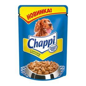 Влажный корм Chappi 'Аппетитная курочка' для собак, пауч, 100 г Ош