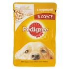 Влажный корм Pedigree для собак, курица в соусе, пауч, 100 г