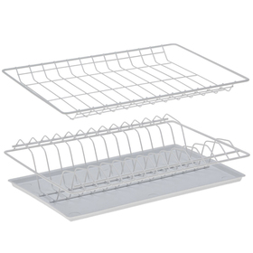 Комплект посудосушителей с поддоном для шкафа 40 см, 36,5×25,6 см, цвет белый Ош