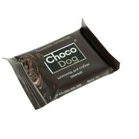 Шоколад темный 'CHOCO DOG' для собак 15 г Ош