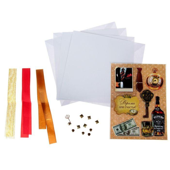 Для создания открыток материалы