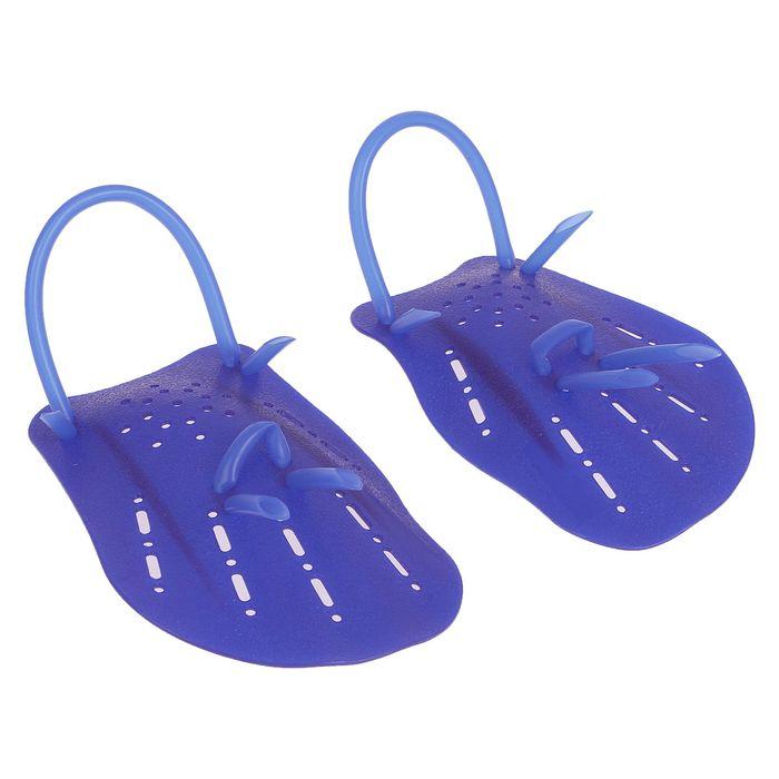 Лопатки для плавания размер L, цвета МИКС