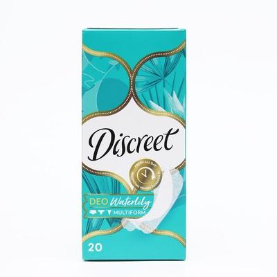 """Прокладки ежедневные Discreet Plus Deo """"Водяная лилия"""", 20 шт - Фото 1"""