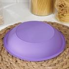 Тарелка для первых блюд, d=22 см, цвет МИКС - Фото 3