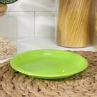 Тарелка для закусок, d=16 см, цвет МИКС - Фото 2