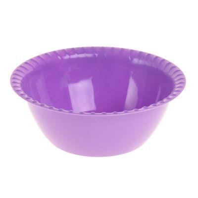 Миска-салатница 0,8 л малая, цвет МИКС