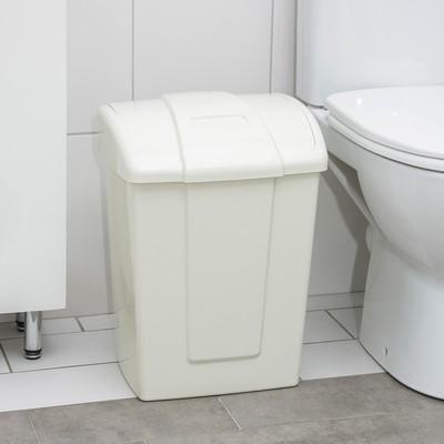 Контейнер для мусора «Форте», 23 л, цвет МИКС - Фото 1